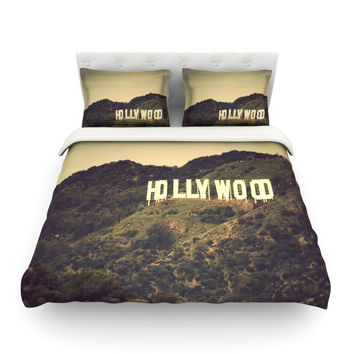 "Catherine McDonald ""Hollywood"" Cotton Duvet Cover"