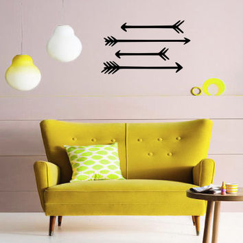 Arrows Wall Decal - Home Decor - Living Room - Bedroom - Office - Gift Idea - High Quality Vinyl Graphic