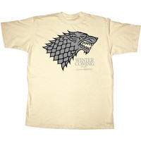 Fifth Sun Men`s Game Of Thrones Stark Tee