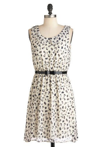 Fine Feathered Finches Dress | Mod Retro Vintage Dresses | ModCloth.com