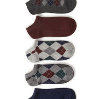 Argyle Ankle Sock Pack