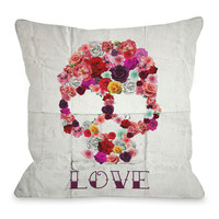 Bed of Roses Floor Pillow