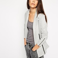 American Vintage Blazer With Zip Detail