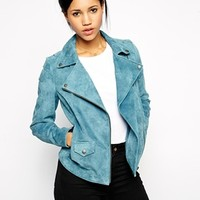 Muubaa Alya Leather Biker Jacket