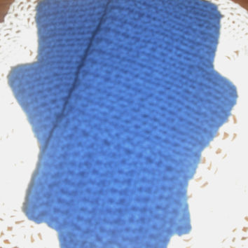 Simple Fingerless Gloves / Mitts