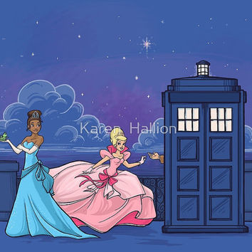 The Princess and the Doctor Large Print (Item 03-332-CC)