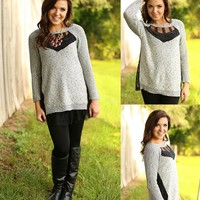 Love It Or Lace It Sweater