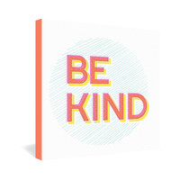 Gabi Be Kind Gallery Wrapped Canvas