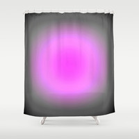 Pink Lavender Gray Focus Shower Curtain by 2sweet4words Designs | Society6