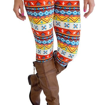 Leggings- So Soft Southwest