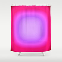 Pink Focus Shower Curtain by 2sweet4words Designs | Society6