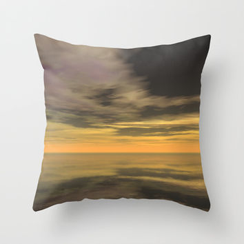 Vista Echoes Throw Pillow by Texnotropio