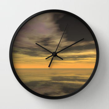 Vista Echoes Wall Clock by Texnotropio