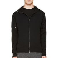 Silent By Damir Doma Black Knit Hoodie