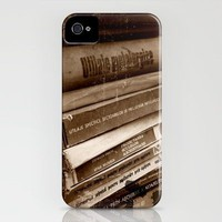 vintage books iPhone Case by ioanaPhotography | Society6