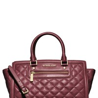 Women's MICHAEL Michael Kors 'Large Selma' Quilted Leather Satchel