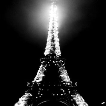 BLACK PARIS Art Print by Chrisb Marquez