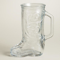 Mini Glass Beer Boots, Set of 2
