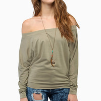 Layla Off Shoulder Sweater $48