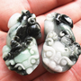 Free Shipping - good luck Amulet Auspicious  - 100% Natural Green jadeite carved &#x27;&#x27; Pi Yao &#x27;&#x27; jade charm Pendant / necklace