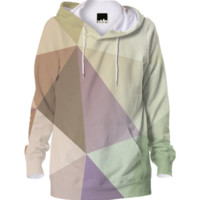 Lovely Abstract Cool Geometric Hoodie All Over Print created by all-over-print-t-shirts | Print All Over Me