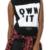The Own It Muscle Tee in Black
