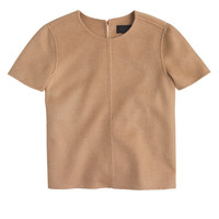 J.Crew Womens Collection Double-Faced Cashmere Tee