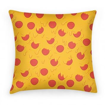 Cartoon Pizza Pillow