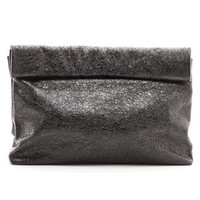 The Foil Lunch Clutch