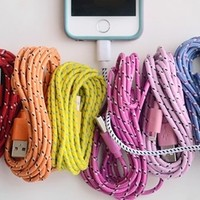 10 Foot Bungee iPhone Cable-iPhone 4, 5 and 6