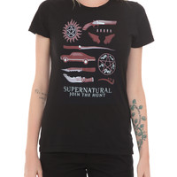 Supernatural Business Symbols Girls T-Shirt