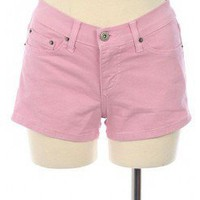 PINK SWEET PASTEL COLORED DENIM SHORTS @ KiwiLook fashion