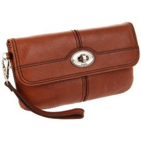 Fossil Maddox Flap Multi SL3023 Wallet,Chestnut,One Size
