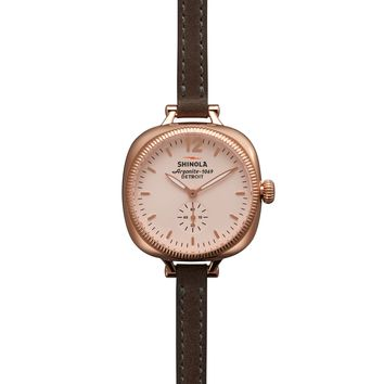 Shinola Gomelsky 36mm Double Wrap Strap