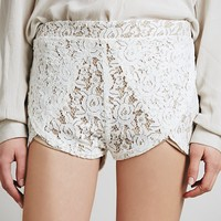 Free People Lace Runner Short