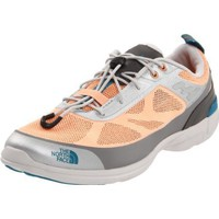 The North Face Women`s Hypershock Water Shoe,Impact Orange/Metallic Silver,10 M US