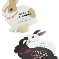 Year of the Critter 2015 Calendar in Rabbit | Mod Retro Vintage Desk Accessories | ModCloth.com