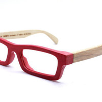 New works handmade bamboo   eyeglasses glasses frame love-bamboo c1501