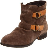 Diba Women`s Flapjack Ankle Boot,Brown,36.5 EU/6.5 M US
