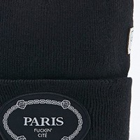 Cayler & Sons Paris Beanie in Black - Urban Outfitters