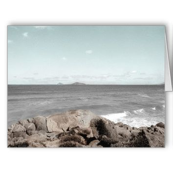 AUSTRALIA BY THE SEA (LANDSCAPE) Greeting Card