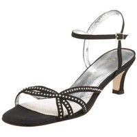 David Tate Women`s Hot Date Special Occasion Sandal,Black,10 W US
