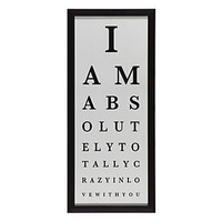 Z Gallerie - Love Eye Chart