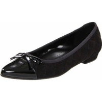 VANELi Women`s Tilt Flat,Black,11.5 N US