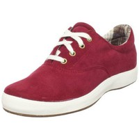Grasshoppers Women`s Corduroy Janey Fashion Sneaker,Burgandy,8 WW US
