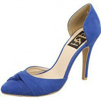 BLUE CASUAL WORK DAY HEEL @ KiwiLook fashion