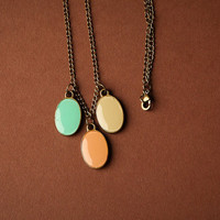 Pastel Charm Necklace