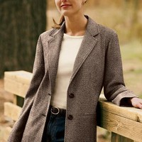 Soft Tweed Boyfriend Jacket