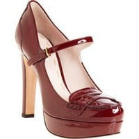 Miu Miu Platform Loafer Pump214.00