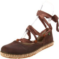 El Naturalista Women`s N541 Espadrille,Chocolate,40 EU/9.5-10 M US